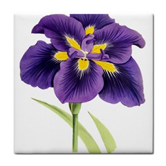 Lily Flower Plant Blossom Bloom Tile Coasters