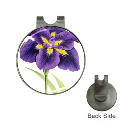 Lily Flower Plant Blossom Bloom Hat Clips with Golf Markers