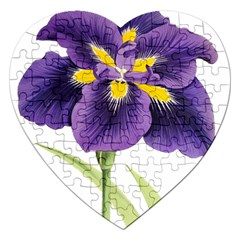 Lily Flower Plant Blossom Bloom Jigsaw Puzzle (heart)