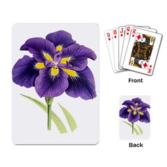 Lily Flower Plant Blossom Bloom Playing Card