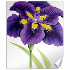 Lily Flower Plant Blossom Bloom Canvas 8  x 10