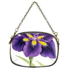 Lily Flower Plant Blossom Bloom Chain Purses (one Side)