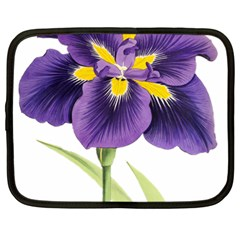 Lily Flower Plant Blossom Bloom Netbook Case (XL)