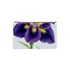 Lily Flower Plant Blossom Bloom Cosmetic Bag (small)
