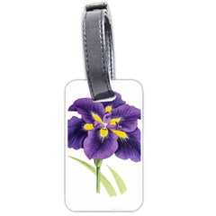 Lily Flower Plant Blossom Bloom Luggage Tags (One Side)