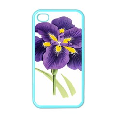 Lily Flower Plant Blossom Bloom Apple Iphone 4 Case (color)