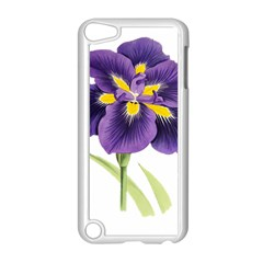 Lily Flower Plant Blossom Bloom Apple iPod Touch 5 Case (White)