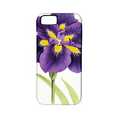Lily Flower Plant Blossom Bloom Apple iPhone 5 Classic Hardshell Case (PC+Silicone)