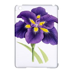 Lily Flower Plant Blossom Bloom Apple iPad Mini Hardshell Case (Compatible with Smart Cover)