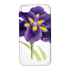 Lily Flower Plant Blossom Bloom Apple Iphone 4/4s Hardshell Case With Stand