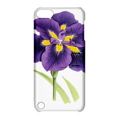 Lily Flower Plant Blossom Bloom Apple Ipod Touch 5 Hardshell Case With Stand