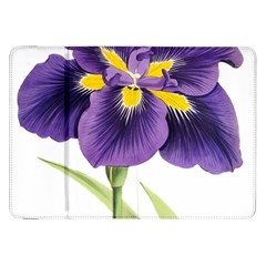 Lily Flower Plant Blossom Bloom Samsung Galaxy Tab 8 9  P7300 Flip Case