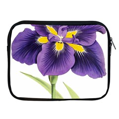 Lily Flower Plant Blossom Bloom Apple Ipad 2/3/4 Zipper Cases