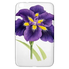 Lily Flower Plant Blossom Bloom Samsung Galaxy Tab 3 (8 ) T3100 Hardshell Case