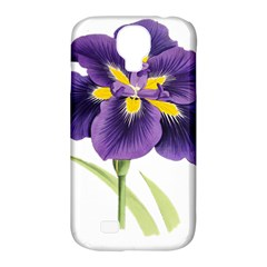 Lily Flower Plant Blossom Bloom Samsung Galaxy S4 Classic Hardshell Case (PC+Silicone)