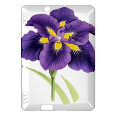 Lily Flower Plant Blossom Bloom Kindle Fire Hdx Hardshell Case