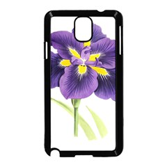 Lily Flower Plant Blossom Bloom Samsung Galaxy Note 3 Neo Hardshell Case (black)