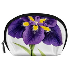 Lily Flower Plant Blossom Bloom Accessory Pouches (Large)