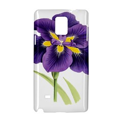 Lily Flower Plant Blossom Bloom Samsung Galaxy Note 4 Hardshell Case