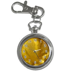Beer Beverage Glass Yellow Cup Key Chain Watches