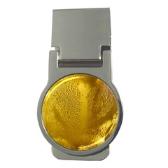 Beer Beverage Glass Yellow Cup Money Clips (round)