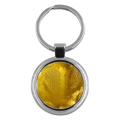 Beer Beverage Glass Yellow Cup Key Chains (round)