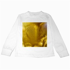 Beer Beverage Glass Yellow Cup Kids Long Sleeve T Shirts