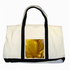 Beer Beverage Glass Yellow Cup Two Tone Tote Bag