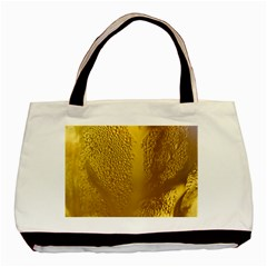 Beer Beverage Glass Yellow Cup Basic Tote Bag (two Sides)