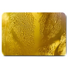 Beer Beverage Glass Yellow Cup Large Doormat