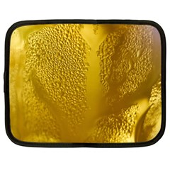 Beer Beverage Glass Yellow Cup Netbook Case (Large)