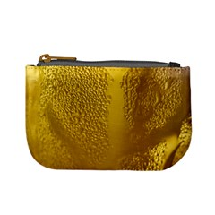 Beer Beverage Glass Yellow Cup Mini Coin Purses
