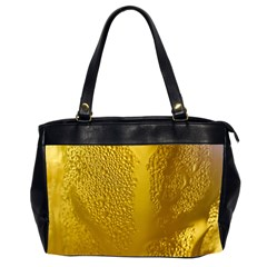 Beer Beverage Glass Yellow Cup Office Handbags (2 Sides)