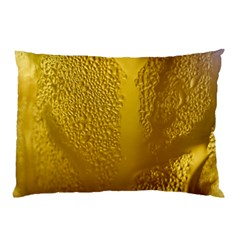 Beer Beverage Glass Yellow Cup Pillow Case (two Sides)