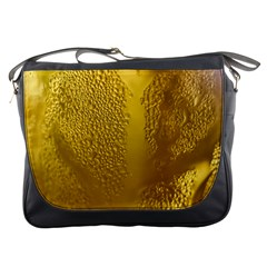 Beer Beverage Glass Yellow Cup Messenger Bags