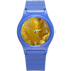Beer Beverage Glass Yellow Cup Round Plastic Sport Watch (s)