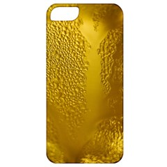 Beer Beverage Glass Yellow Cup Apple Iphone 5 Classic Hardshell Case
