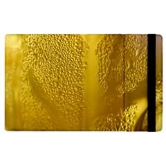 Beer Beverage Glass Yellow Cup Apple Ipad 2 Flip Case