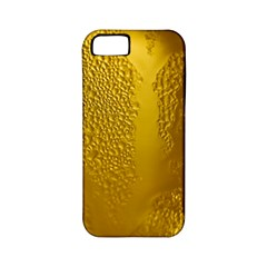 Beer Beverage Glass Yellow Cup Apple Iphone 5 Classic Hardshell Case (pc+silicone)