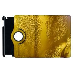 Beer Beverage Glass Yellow Cup Apple iPad 2 Flip 360 Case