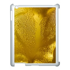 Beer Beverage Glass Yellow Cup Apple iPad 3/4 Case (White)