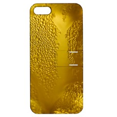 Beer Beverage Glass Yellow Cup Apple Iphone 5 Hardshell Case With Stand