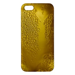 Beer Beverage Glass Yellow Cup Apple iPhone 5 Premium Hardshell Case