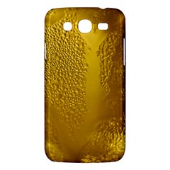 Beer Beverage Glass Yellow Cup Samsung Galaxy Mega 5.8 I9152 Hardshell Case