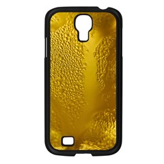 Beer Beverage Glass Yellow Cup Samsung Galaxy S4 I9500/ I9505 Case (black)