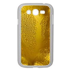 Beer Beverage Glass Yellow Cup Samsung Galaxy Grand DUOS I9082 Case (White)