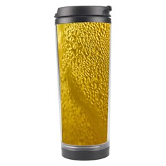 Beer Beverage Glass Yellow Cup Travel Tumbler
