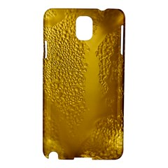 Beer Beverage Glass Yellow Cup Samsung Galaxy Note 3 N9005 Hardshell Case