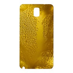 Beer Beverage Glass Yellow Cup Samsung Galaxy Note 3 N9005 Hardshell Back Case