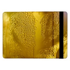 Beer Beverage Glass Yellow Cup Samsung Galaxy Tab Pro 12.2  Flip Case